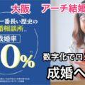 大阪「アーチ結婚相談室」理想人生から逆算する婚活で高成婚率を実現